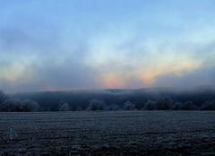 Petit matin givré sur la vallée