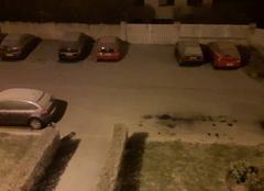La neige est tombé