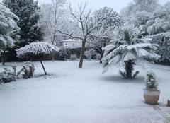 St Jean de Boiseau sous la neige