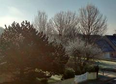 Dernier matin de 2016 froid et ensoleillé