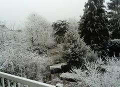 Il neige à Chartres