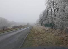 Gel et brouillard