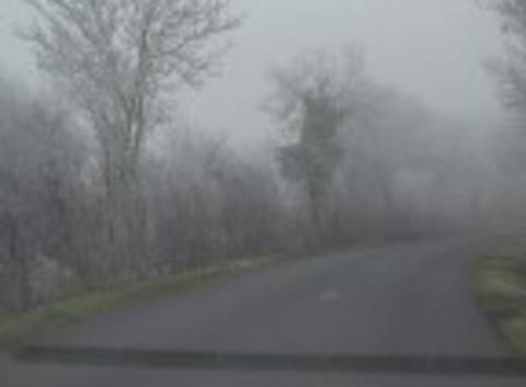 Brouillard et gel