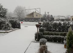 Neige Ugny 54870 Bonne année de Thierry