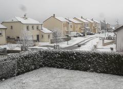 Neige Avril 54150 Première neige