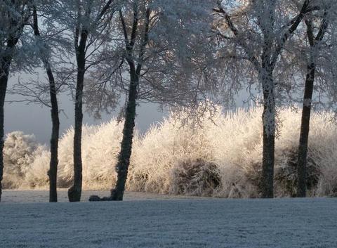 Paysage magnifique sur Toucy ce 31 décembre 2027paysage magnifique sur Toucy, aux avenières, ce 31 décembre 2017