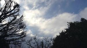 Le soleil perce sous un vent glacial
