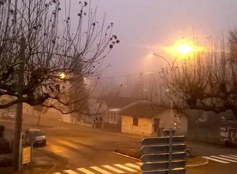 Brouillard et froid