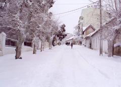 Neige A'n Draham Ain Drahame aux neige