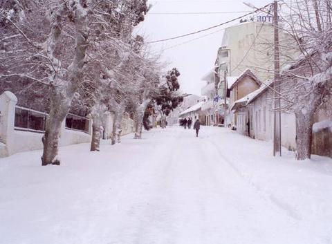 Ain Drahame aux neige