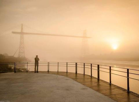 Le fantôme du pont transbordeur