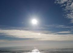 Mer Plouhinec 56680 Soleil sur l'océan