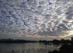 Nuages sur la Loire