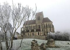 Froid Mezy-Moulins 02650 Eglise de Mezy moulins