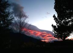Sunset, Espira de Conflent, 08/01/2016