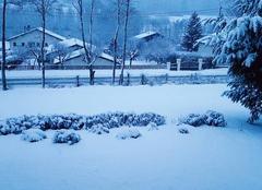 Neige Ville-sur-Illon 88270 Averse de neige
