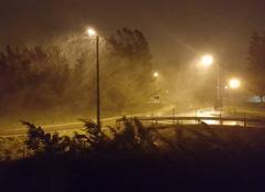 Charleville Mézières l'arrivée de la neige