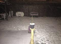 Forte chute de neige.