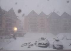 Valmeinier en pleine tempête