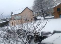 Neige Ardon Vue d'hiver