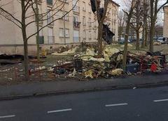 Tempête Compiègne 60200 Toiture arrachée