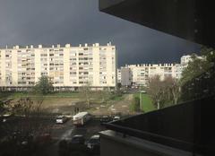Nuage qui arrive sur Mérignac