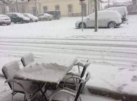 Le froid et la neige en Aveyron