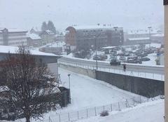 Morteau sous la neige