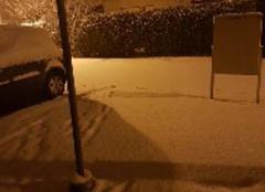 Neige dans le pays de gex