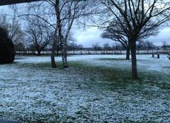 La neige est arrivée dans l'Allier