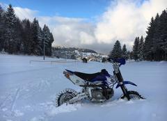 Moto/neige!