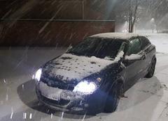 Neige Fourmies 59610 Chute de neige