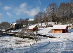 Neige Leynhac 15600 Sous la neige