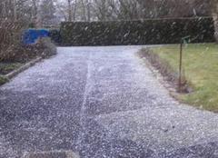 Neige dans l'Arrageois