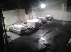 Chute de neige depuis le début de soirée