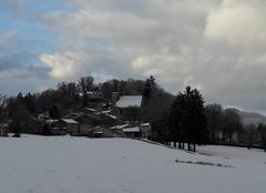 Neige Montfleur 39320 Village de montfleur