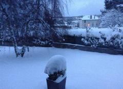 Neige Craponne-sur-Arzon 43500 Un dimanche sous la neige