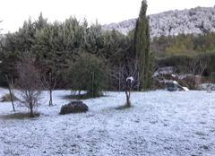 Neige dans le Gard