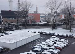 Petite chute de neige