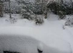 C'est vraiment l'hiver cette fois ci