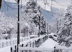 Cluses sous la neige