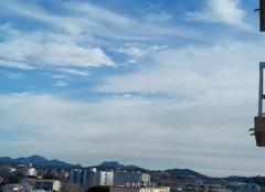 D'autre nuages son présents