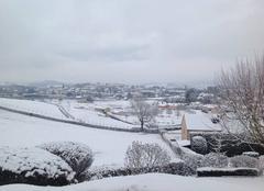 La CLAYETTE  sous la neige
