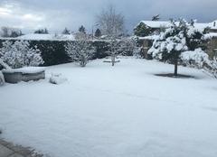 10 cm de neige ?