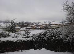 Neige ce matin