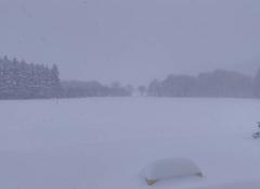 Forte averse de neige