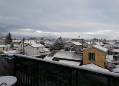 Neige a Villefranche