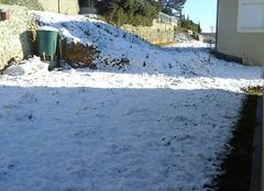 Neige à  Saint Ambroix du Gard