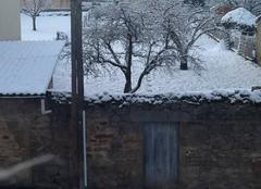 Un dimanche matin sous la neige