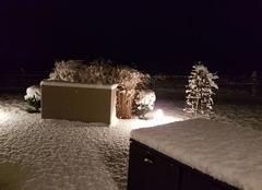 10 cm de neige